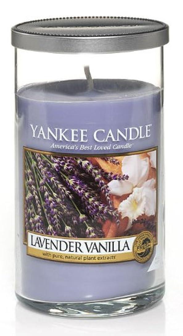 違反中で効率Yankee Candleラベンダーバニラ、新鮮な香り Regular Perfect Pillar Candle パープル 1221184-YC