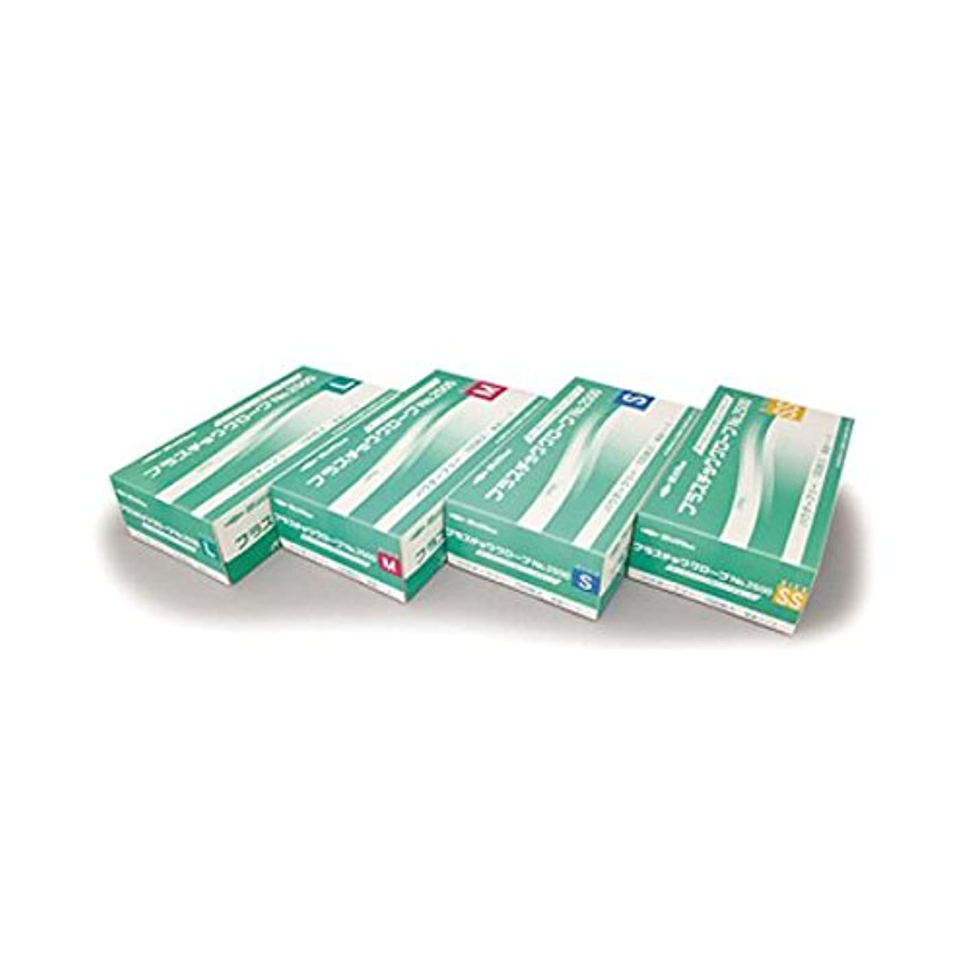 溶かす酸ゆりかご(業務用20セット) 共和 プラスチックグローブNo2500 L LH-2500-L