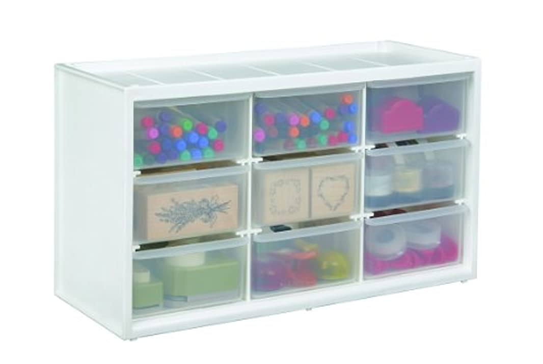 メンバーこの平手打ちArtBin Store-In-Drawer Cabinet-14.375