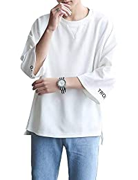 [エアバイ] ゆったり シルエット Tシャツ メンズ M~XXL