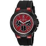 腕時計 BVLGARI(ブルガリ) DG42C9SMCVDCH レッド文字盤 メンズ [並行輸入品]