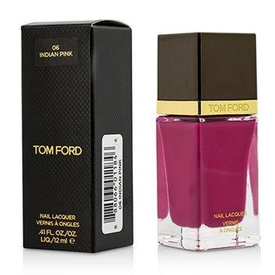上に死んでいる有彩色のトム フォード Nail Lacquer - #06 Indian Pink 12ml/0.41oz