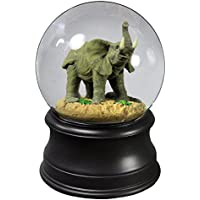 The Might Elephant Water Globe from the San Francisco Music Box Company