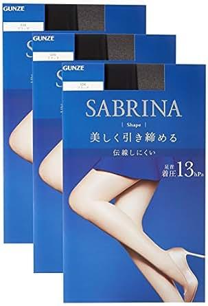 [グンゼ] ストッキング サブリナ シェイプ 同色3足組 SB420 レディース ブラック 日本 L-LL (日本サイズL相当)