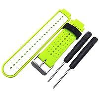 ガーミンフォアランナーのためのソフトシリコン交換用腕時計バンド220 230 235 630 620スマート腕時計ストラップ送料無料[D] - Yumbyss