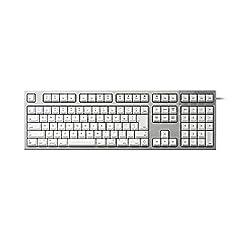 東プレ REALFORCE for Mac キーボード 日本語配列114キー 変荷重 かな無し(ホワイト)リアルフォース R2-JPVM-WH