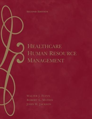 Download Healthcare Human Resource Management 0324317042