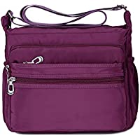Crossbody Bag for Women Waterproof Shoulder Bag Messenger Bag Casual Nylon Purse Handbag
