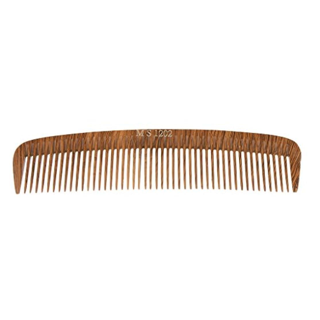 ロデオ要塞征服するヘアカットコーム コーム 木製櫛 くし ヘアブラシ ウッド 帯電防止 4タイプ選べる - 1202