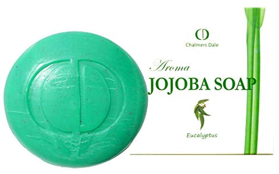 大きい鎖ヒールホホバオイルソープ(美容ソープ)ユーカリ 100g