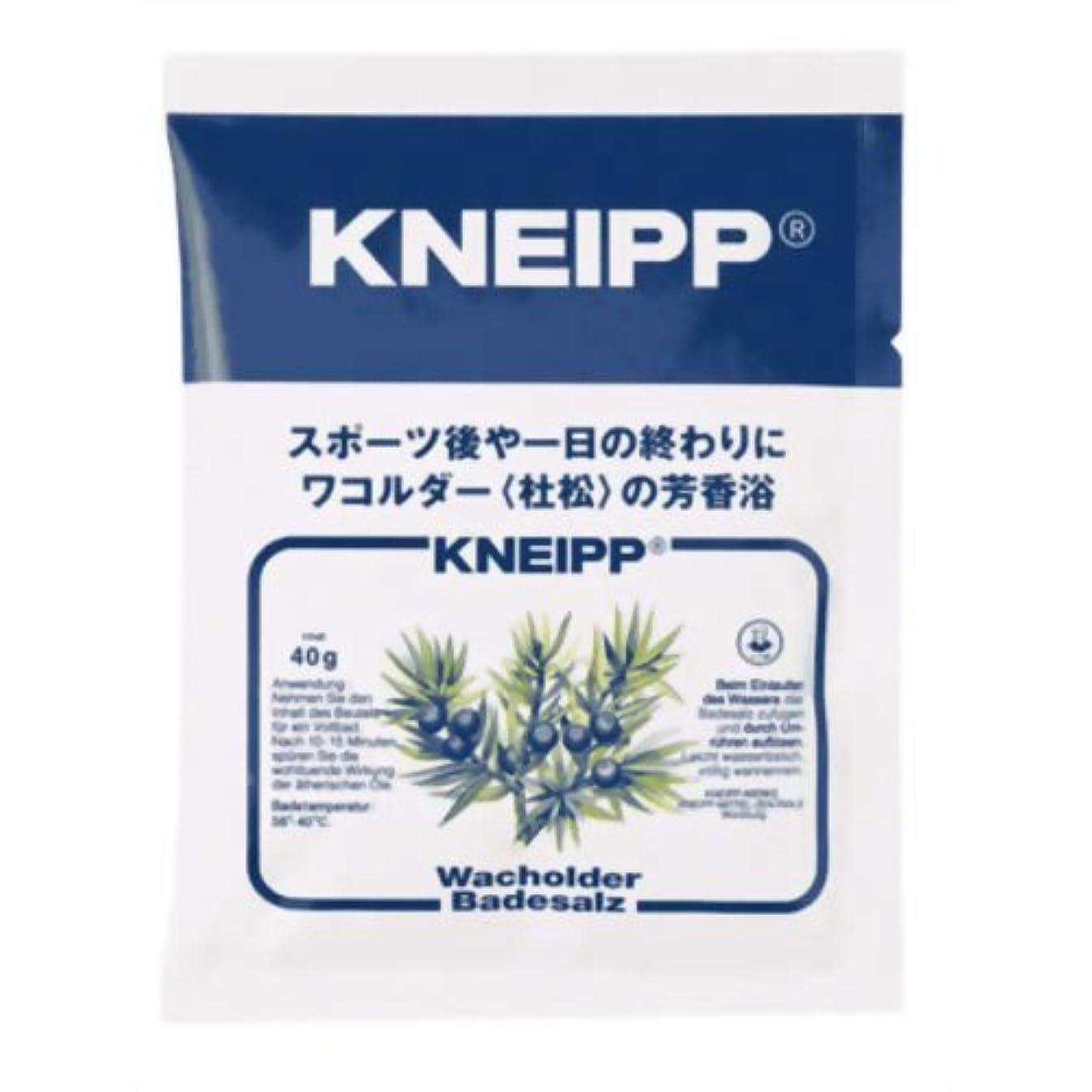 コンチネンタル柔らかい足グリルクナイプ バスソルト ワコルダーの香り 40g(入浴剤 バスソルト)
