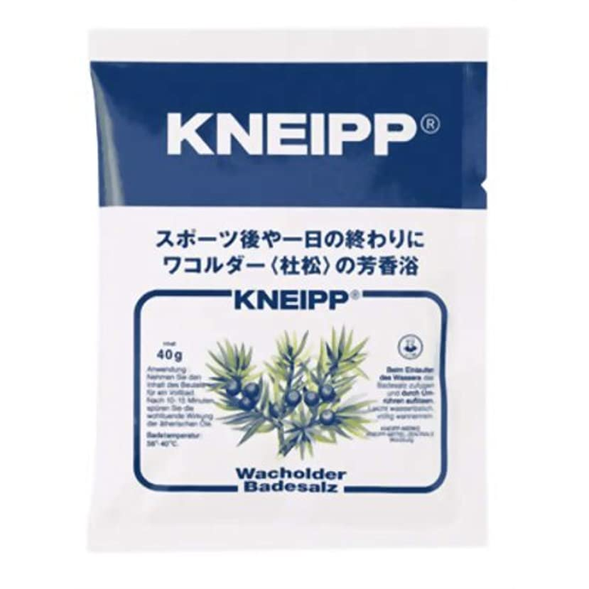 柔和それぞれ敬の念クナイプ バスソルト ワコルダーの香り 40g(入浴剤 バスソルト)