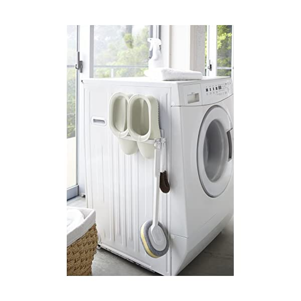 山崎実業 マグネット ハンガー収納 洗濯機横 ...の紹介画像4