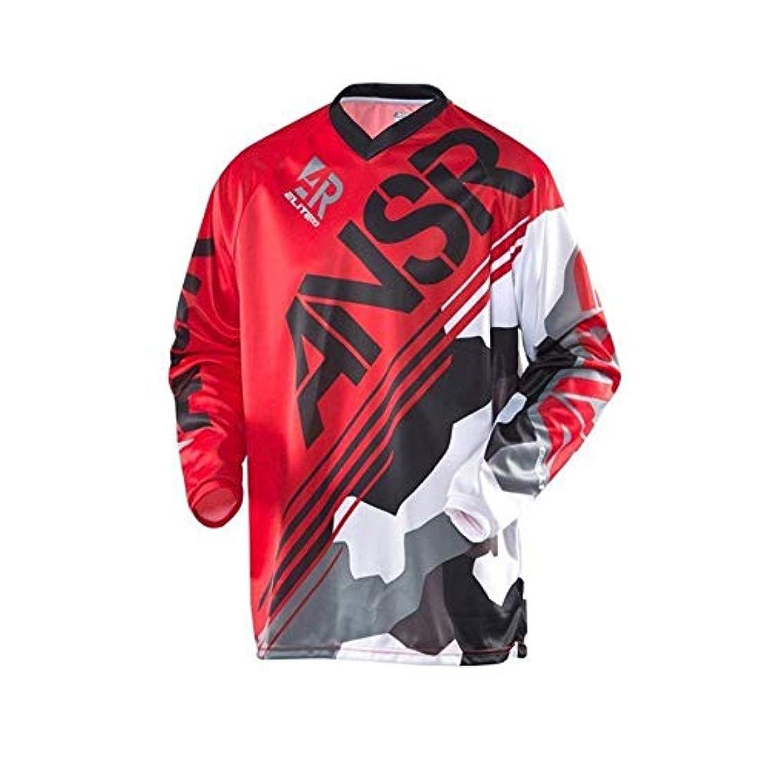 積極的に印象派感情CXUNKK アウトドアスポーツ長袖Tシャツダウンヒルスーツモトクロスレーシングジャージ (Color : 14, Size : XL)