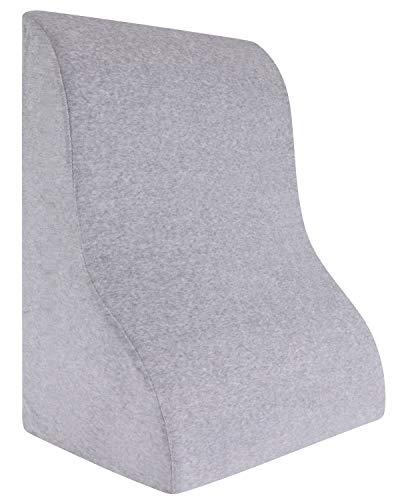 Meiz 最新型 三角クッション 背もたれ 枕 健康 体にフィット 読書用クッション プレゼント 敬老の日 腰痛 逆流性食道炎枕 三角 腰枕 肩こり緩和 (グレー)