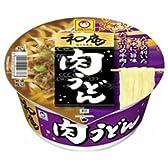 東洋水産 マルちゃん 和庵(なごみあん)肉うどん81g×12個入