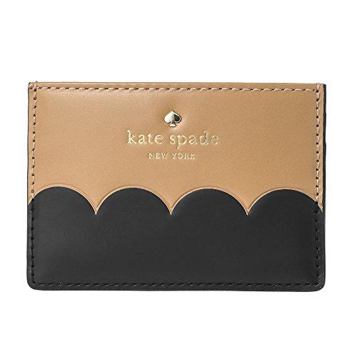 Kate spade(ケイトスペード) カードケース PWRU5899 248 ケイン ロード ベージュ/ブラック 黒 [並行輸入品]