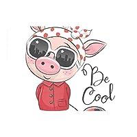 ランチョンマット 豚 かわいい 虫 1枚セット 義務用 断熱 撥水 防汚 速乾 水洗いOK 耐久性 シワに対する 家庭用 シンプル 便利 お手入れ 便利