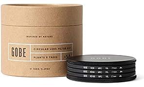 Gobe 77mm ND8, ND64, ND1000 Lens Filter Kit (2Peak)