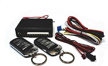 キーレスエントリー キット ドアロック 社外キーレス 汎用 システムキット ダミーセキュリティー オリジナル日本語配線図 アンサーコールバック機能搭載