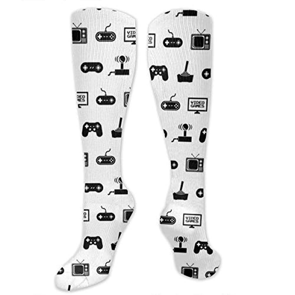 感動する対応する機動靴下,ストッキング,野生のジョーカー,実際,秋の本質,冬必須,サマーウェア&RBXAA Video Games Socks Women's Winter Cotton Long Tube Socks Cotton Solid...