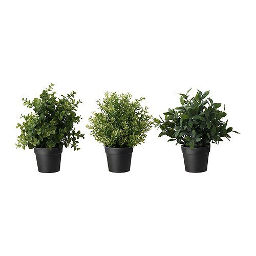 RoomClip商品情報 - ★FEJKA / 造花鉢植え / ハーブ/※種類はおまかせください♪[イケア]IKEA(50191993)