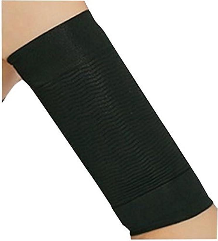 ステレオタイプ後昼寝CREPUSCOLO 二の腕引き締め! 二の腕シェイパー 二の腕 引き締め 二の腕痩せ ダイエット 二の腕ダイエット インナー シェイプアップ 脂肪燃焼 セルライト 加圧下着 (ブラック)