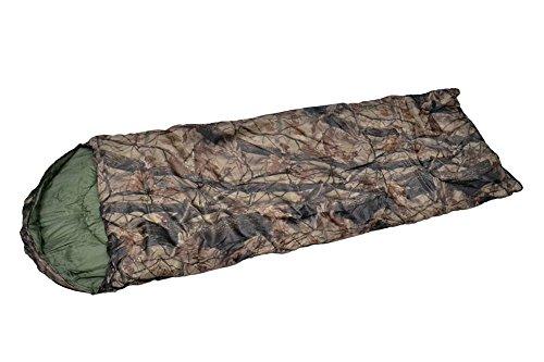 SY-076 5度~15度 寝袋 寝具 シュラフ 枯葉迷彩柄...
