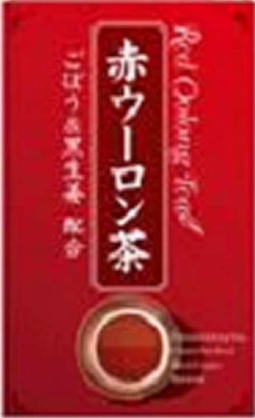 意見めまい名前赤ウーロン茶 3.0g*20包