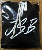 三代目JSB 初期 ロゴ JSBパーカー 黒色 Mサイズ