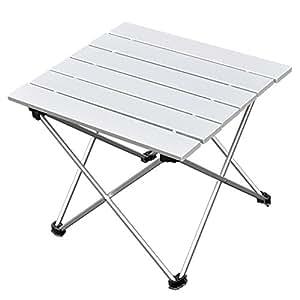 NOT Home アウトドア テーブル 折りたたみ 軽量 アルミ BBQ テーブル ウルトラライト アウトドア フォールディング (M)