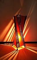 間接照明 スタンドライト ♪バンブーとコットントルネードランプM50cm♪ アジアン照明 バリ おしゃれ フロアスタンド