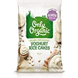 Only Organic Yoghurt Rice Cakes Kindy 1-5 Years - 60g
