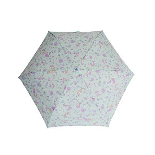 d6884da9dad8d  オレンジボンボン orangebonbon 折りたたみ傘 こども用 女の子 傘 手開きタイプ キッズ 海の