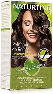 NaturTint Root Retouch - Light Brown Shades, Ammonia Free, Vegan, Cruelty Free, up to 100% Gray Coverage, Radi
