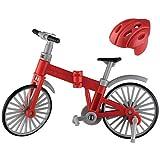 誰得!?俺得!!シリーズ カプセル素体 素ボディVer1.1&折りたたみ自転車 [3.折りたたみ自転車(レッド)ヘルメット付き](単品)