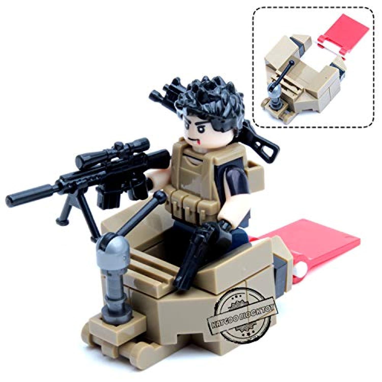 武器パック 陸軍兵士フィギュア 武器組み立てブロック付き バットマン 最高の子供のギフト China グリーン Thytas