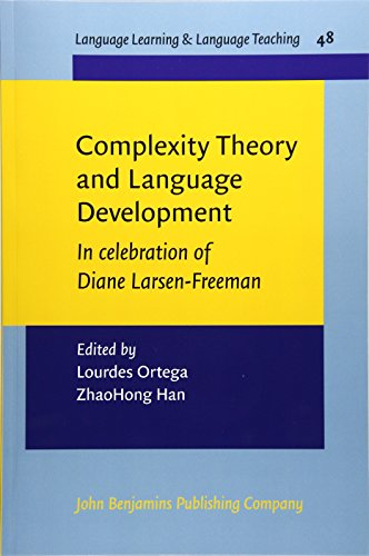 a reflection of larsen freemans a complexity theory approach to second language development acquisit Various theories have arose since language studies came to fore, and the ability to acquire language has first language acquisition is touted by linguist as the process of acquiring a language via exposure larsen-freeman and long (1991:266) consider that s-r models offer little promises as.