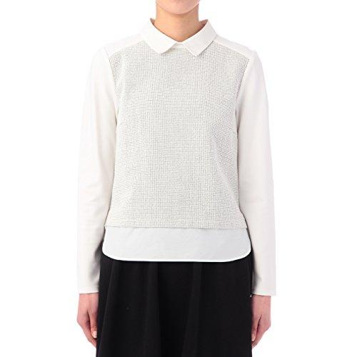 (ミニマム)MINIMUM ツイード調レイヤードシャツ ホワイト(001) 02(M)