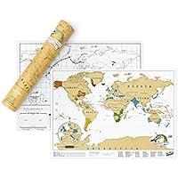 スクラッチマップ、トラベルエディション Scratch Map Travel Edition