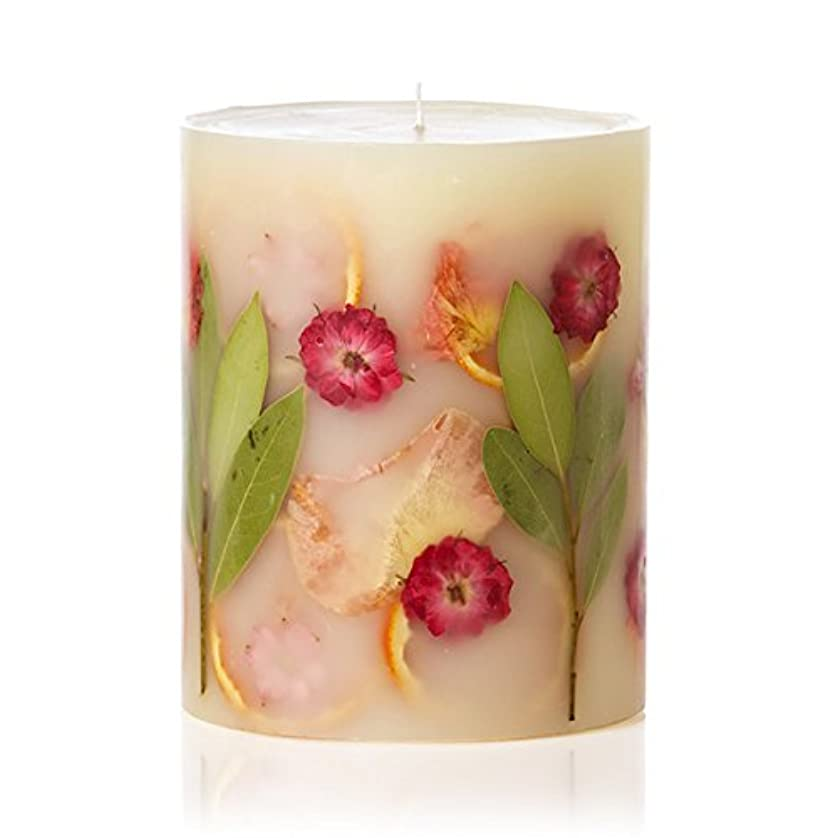 二十市民不潔ロージーリングス ボタニカルキャンドル トールラウンド ピオニー&ポメロ ROSY RINGS Round Botanical CandleTall Round Peony & Pomelo