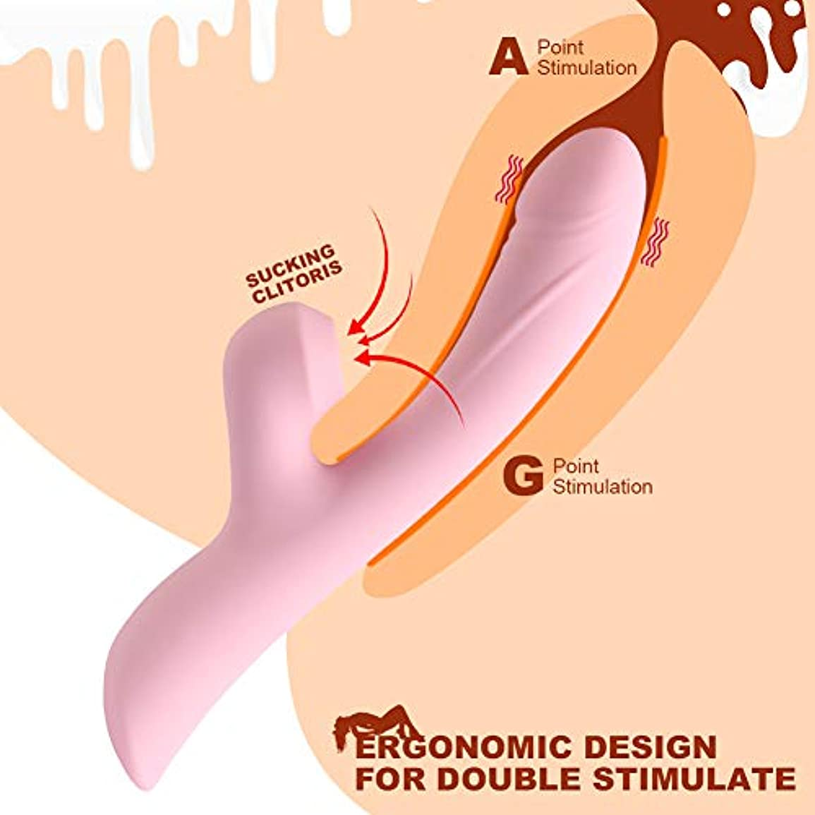 足 マッサージ グッズ マッサージ 家電 女性用多機能マッサージスティック充電式防水 強力な 筋肉痛のためのマッサージスティック体をリラックスさせ、疲労を和らげます (ピンク色)
