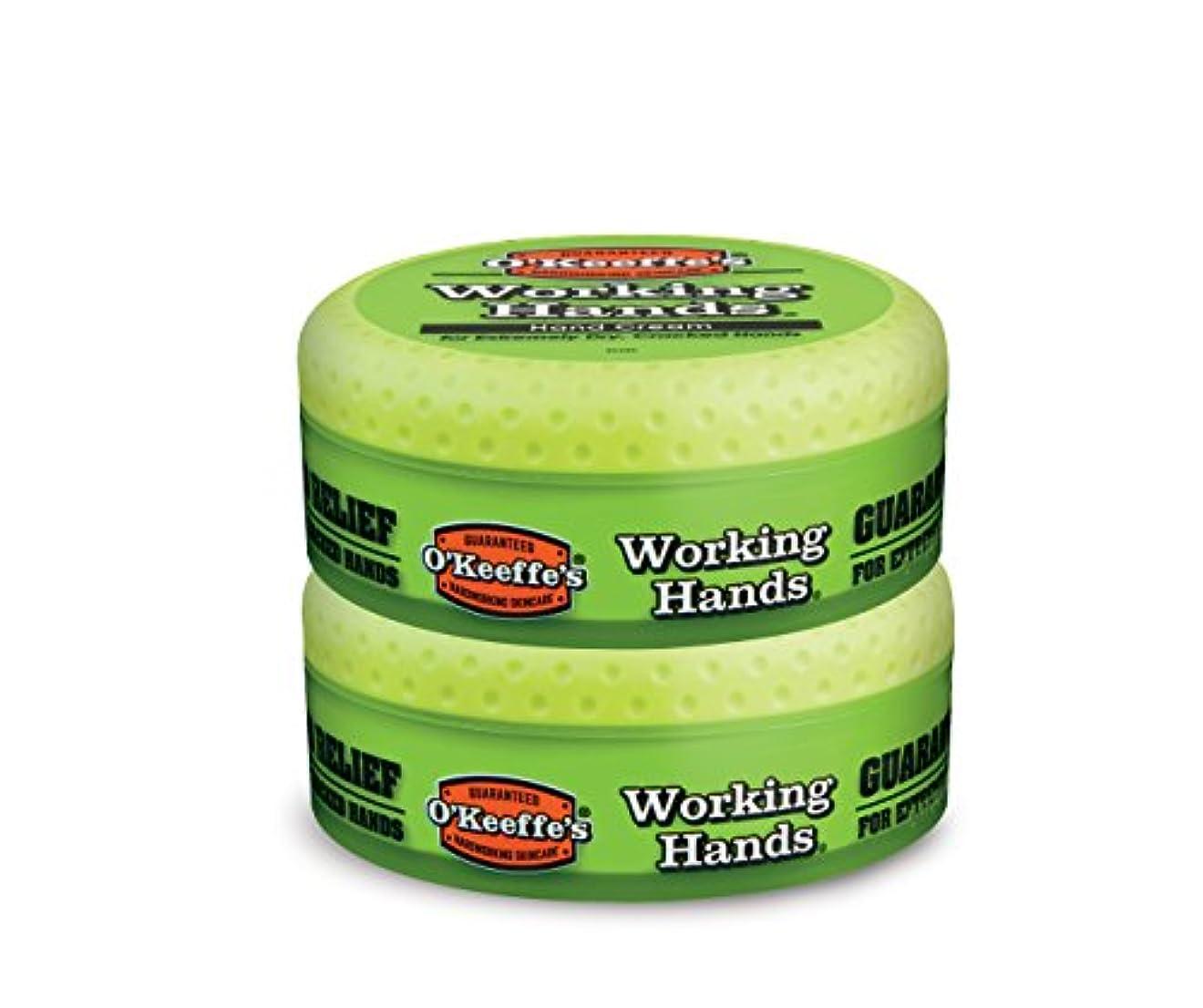 分注するキャプチャーレスリングO ' Keeffe 's Working Hands Hand Cream, 3.4オンス、Jar 2 - Pack 3500 2