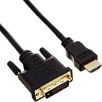 PLANEX HDMI-DVI変換ケーブル 2.0m PL-HDDV02
