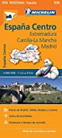 Extremadura, Castilla La Mancha, Madrid - Michelin Regional Map 576 (Michelin Regional Maps)