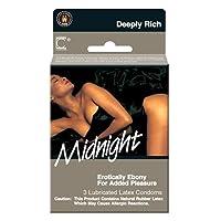 Midnight(Ebony Colored) 3Pk by Contempo