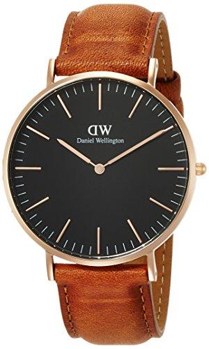 [ダニエル・ウェリントン]DanielWellington 腕時計 Classic Black Durham ブラック文字盤 DW00100126 メンズ 【並行輸入品】