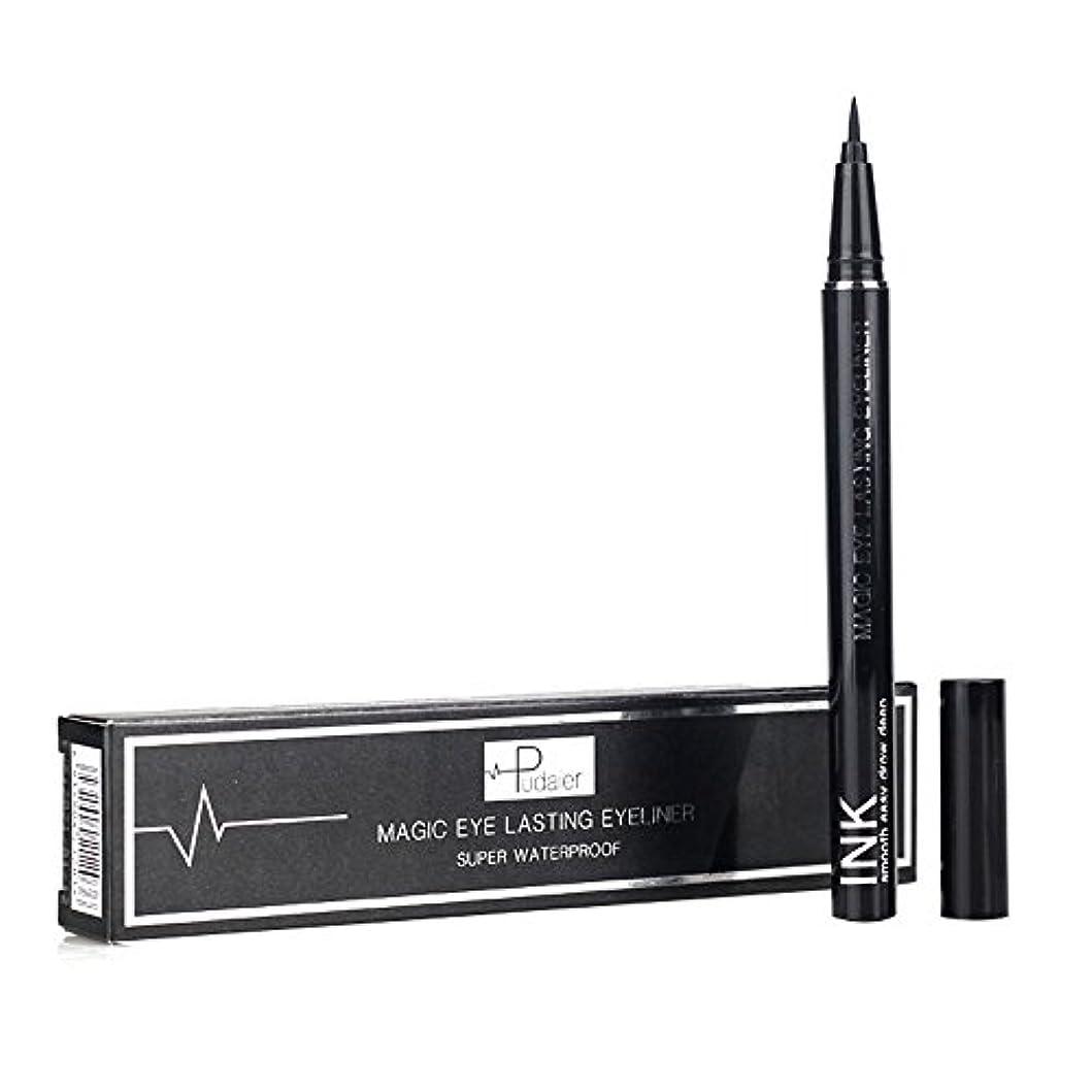 懸念報復する特許新しい防水美容メイク化粧品アイライナーペンシルブラックリキッドアイライナーペン
