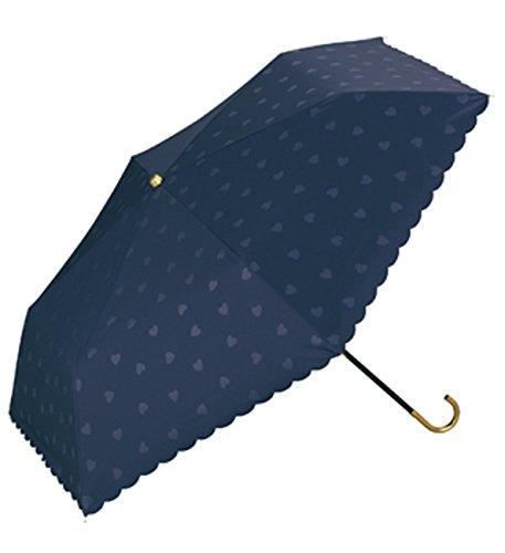 wpc-mini-801-891 50cm ネイビー (ワールドパーティー) W.P.C 日傘 折りたたみ 遮光 軽量 WPC ワールドパーティー 傘 遮熱 パラソル レディース UVカット ひんやり 晴雨兼用 レイングッズ KIU キウ wpc-mini-801-891