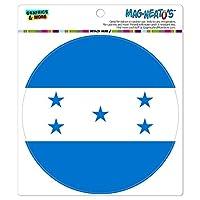 ホンジュラス国立国旗 - サークル MAG-格好いい'S(TM)カー/冷蔵庫マグネット